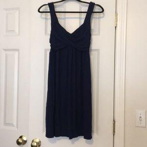 EUC Navy Blue Max Studio summer dress. *M